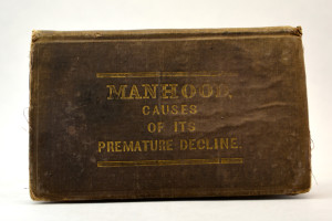 A typically grubby copy of an early work of male sexual health.